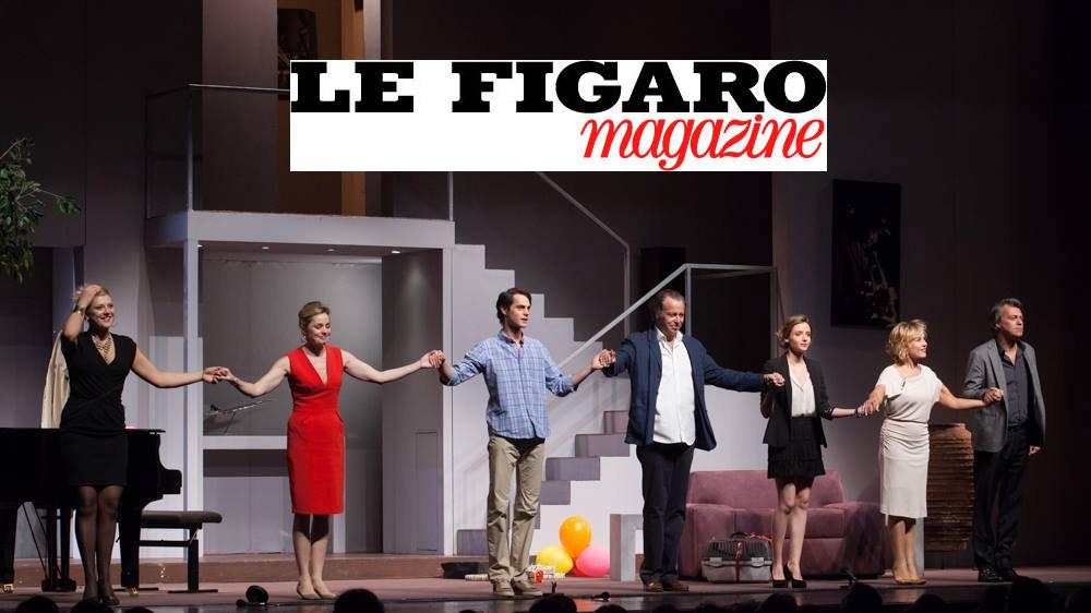 Le Figaro Magazine : un drôle de père